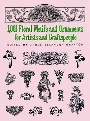 Carol Belanger Graft 1001 Floral Motifs and Ornaments for Artists and Craftspeople 0 0