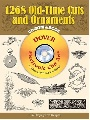 Cirker Blanche 1268 Old-Time Cuts and Ornaments CD-ROM and Book 0 0